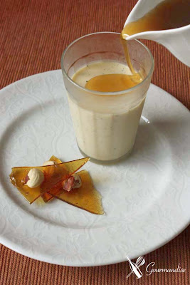 Gourmandise Panna cotta leite vegetal
