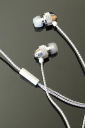 Brite Buds - Reflective Cord Stereo Earphones - Far End Gear