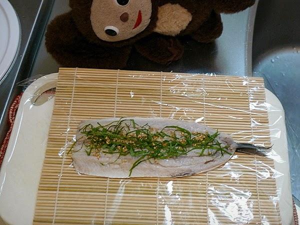 イワシ姿寿司の作り方(7)