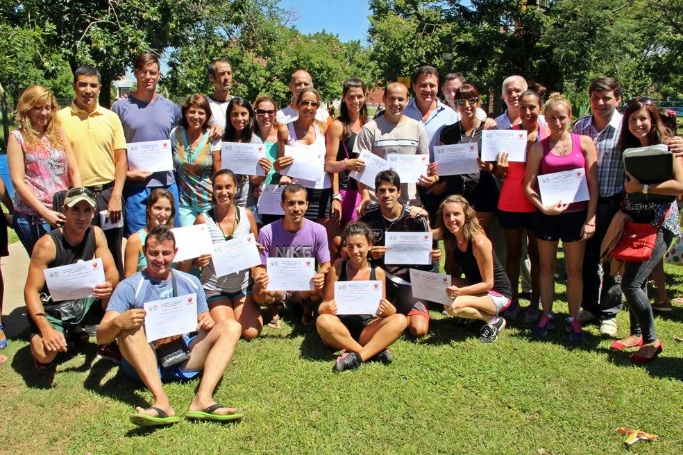 Raimundo entregó certificados a profesores del Polideportivo capacitados en RCP