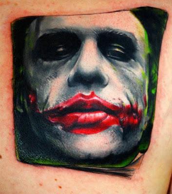 tatuagens da Joker Face