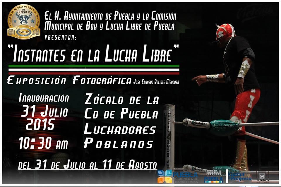 El Zocalo de Puebla se vestira de Lucha Libre