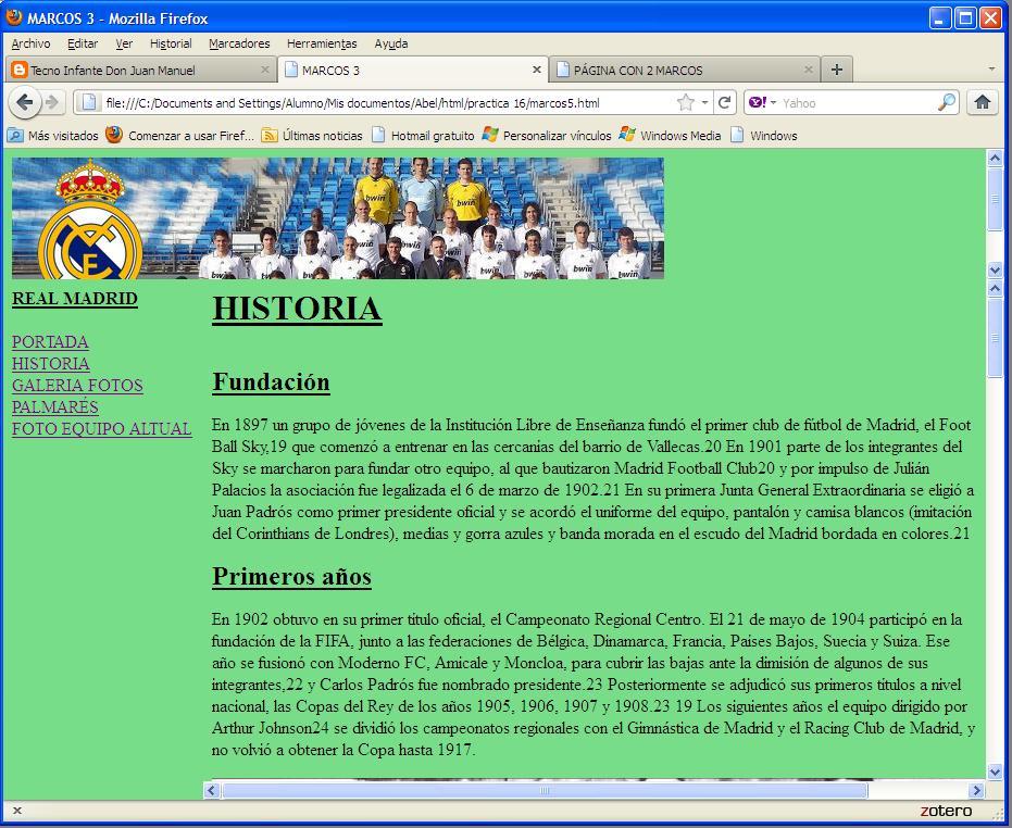 Tecno Infante Don Juan Manuel: enero 2012