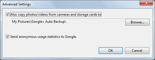 how to delete photos from picasa auto backup