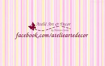 Curta e Compartilhe a nossa pagina www.facebook.com/atelieartedecor