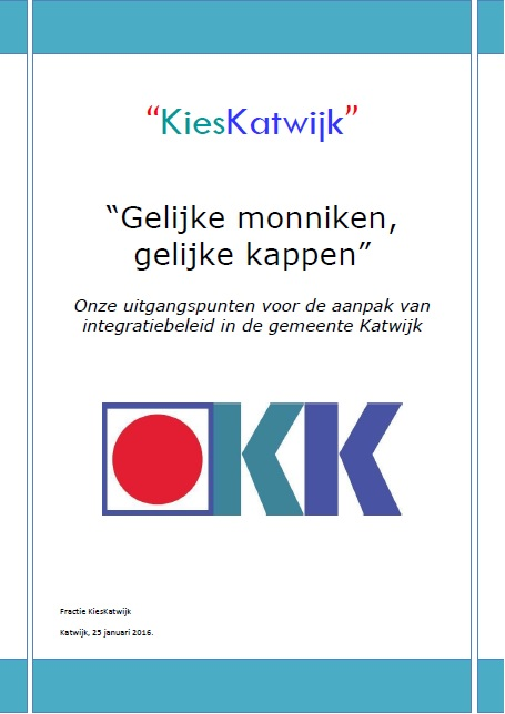 onze nota over integratie