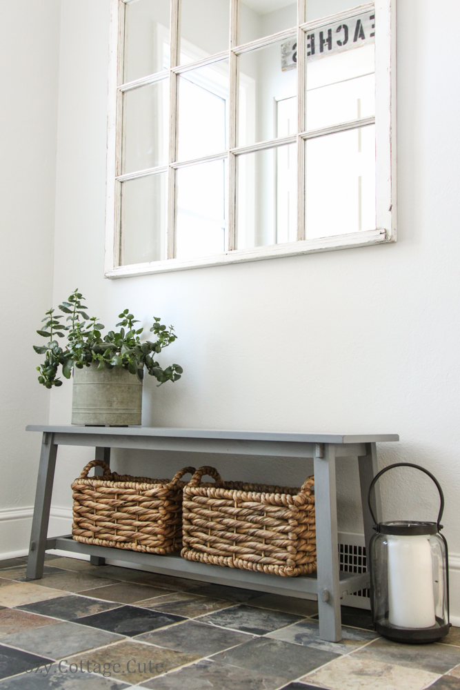 Entryway bench on pinterest entryway benches and Mud room benches