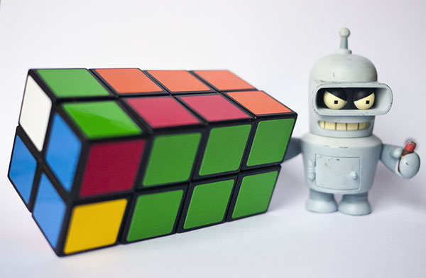 2x2x4  Rubik bender futurama