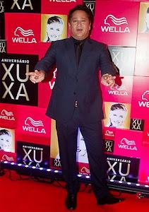 Leonardo na festa de 50 anos  da Xuxa  28 05 2013