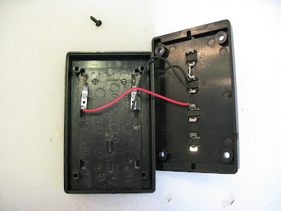 Interior of High Capacity Camcorder Battery Base Plate