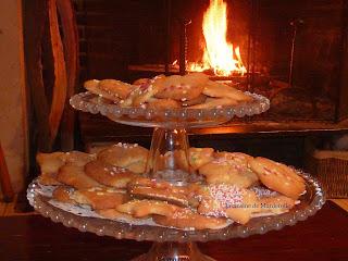 coin du feu-biscuits a la vanille