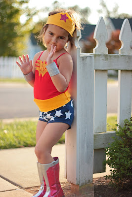diy kids wonder woman costume