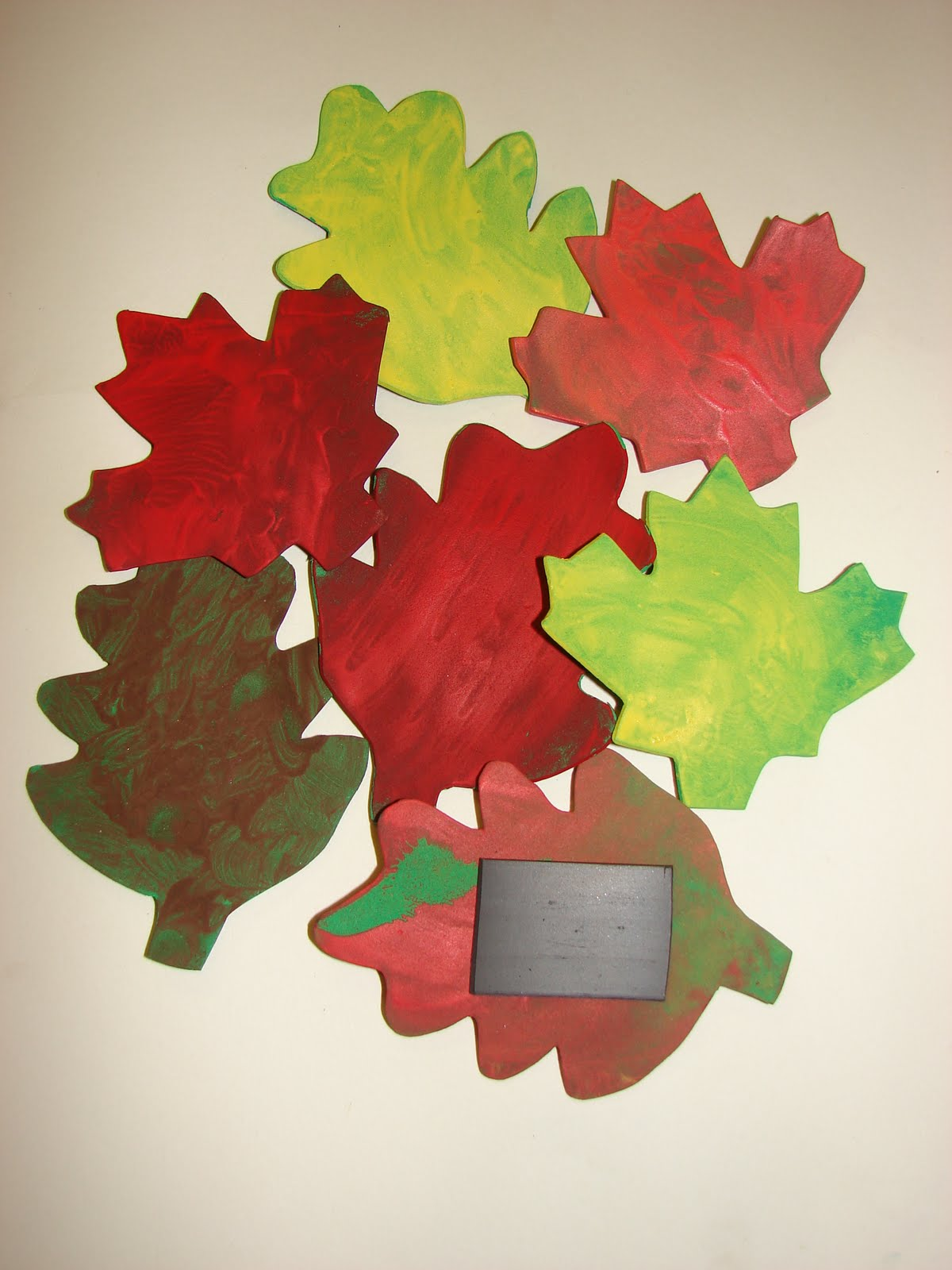 Autumn Leaf Magnets