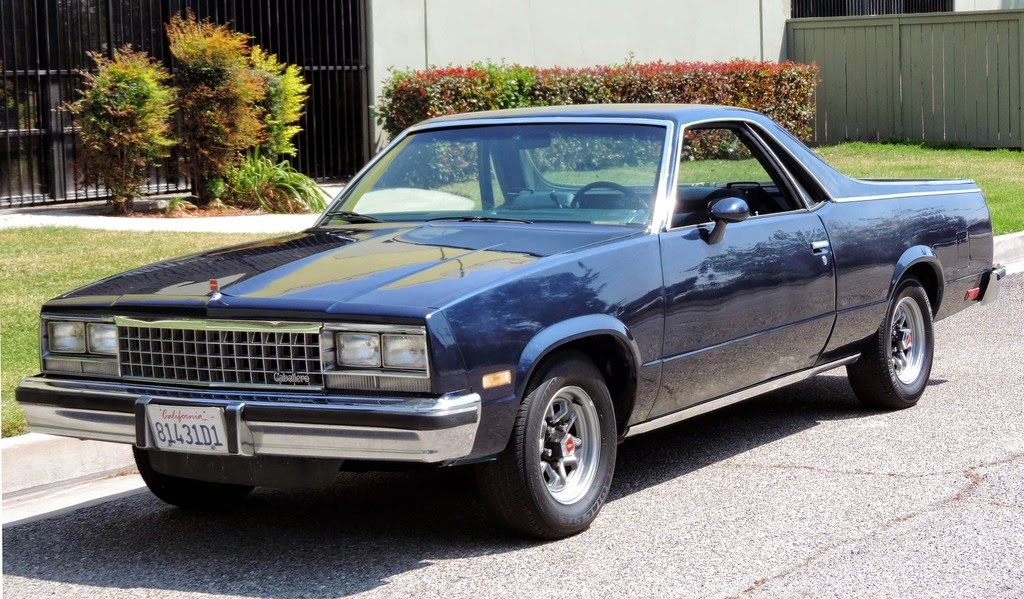 El Camino 4x4 Conversion >> All American Classic Cars: 1985 GMC Caballero