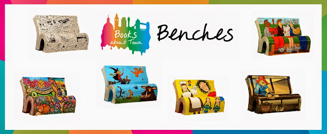 http://www.booksabouttown.org.uk/?action=ListBenches