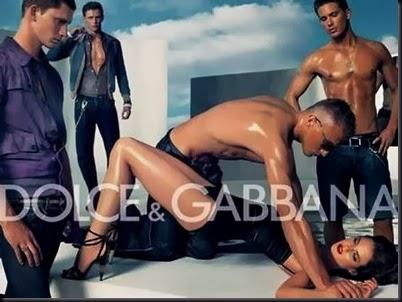 διαφήμιση του Dolce @ Gabbana