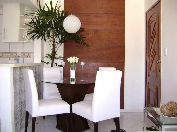 Sala De Jantar Pequena E Barata ~ 20 Salas de jantar pequenas!!  Jeito de Casa  Blog de Decoração