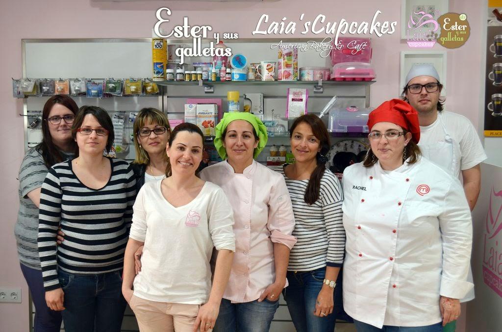 Taller de galletas de glasa en Laia's Cupcakes. Puerto de Sagunto