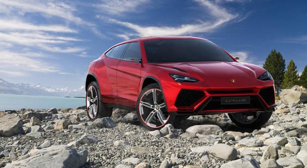The SUV from Lamborghini comes in 2018
