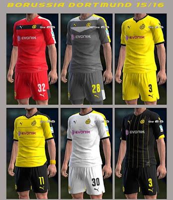 PES 2013 Borussia Dortmund 15/16 GDB by Peter