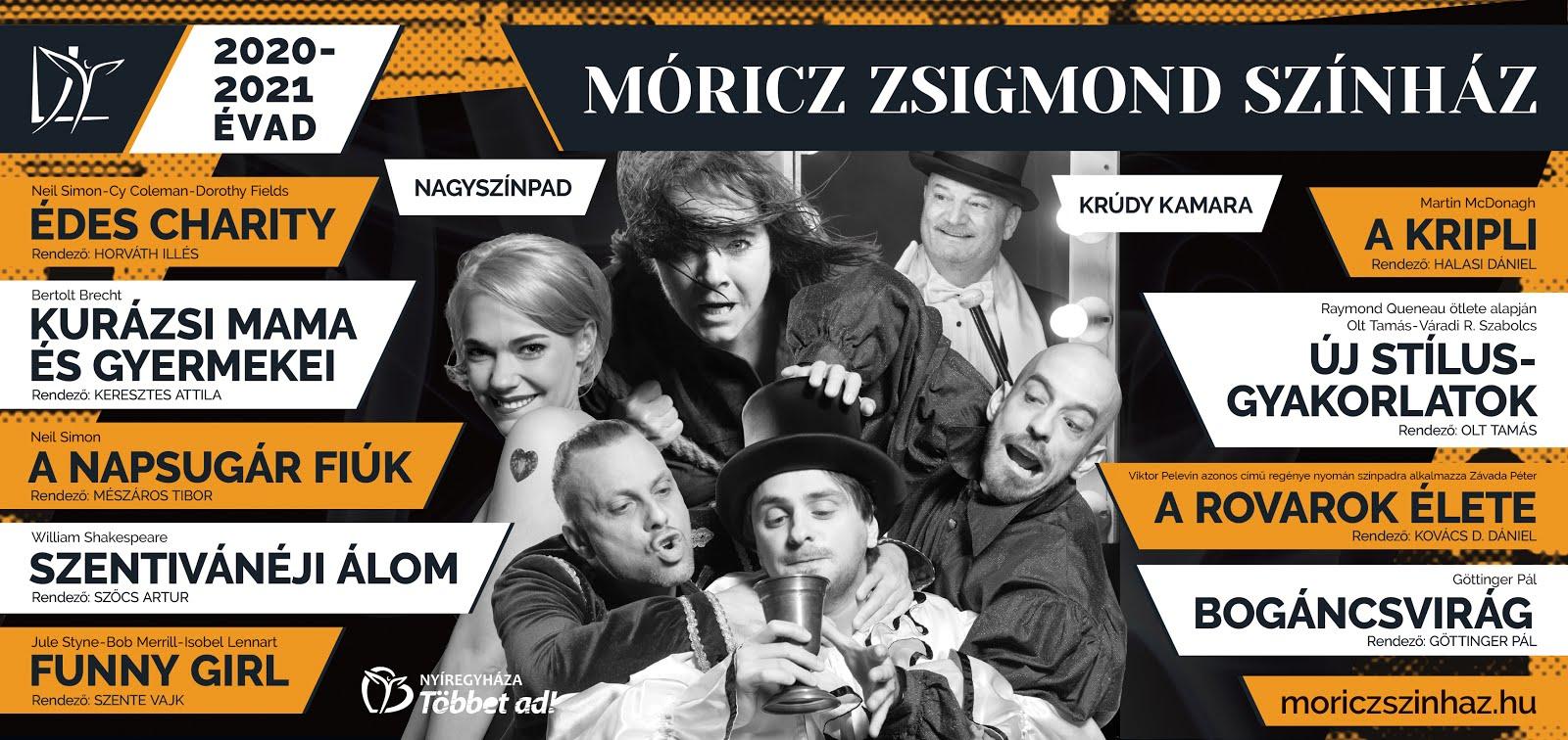 Indul a bérletmegújítás és -értékesítés a Móricz Zsigmond Színházban!