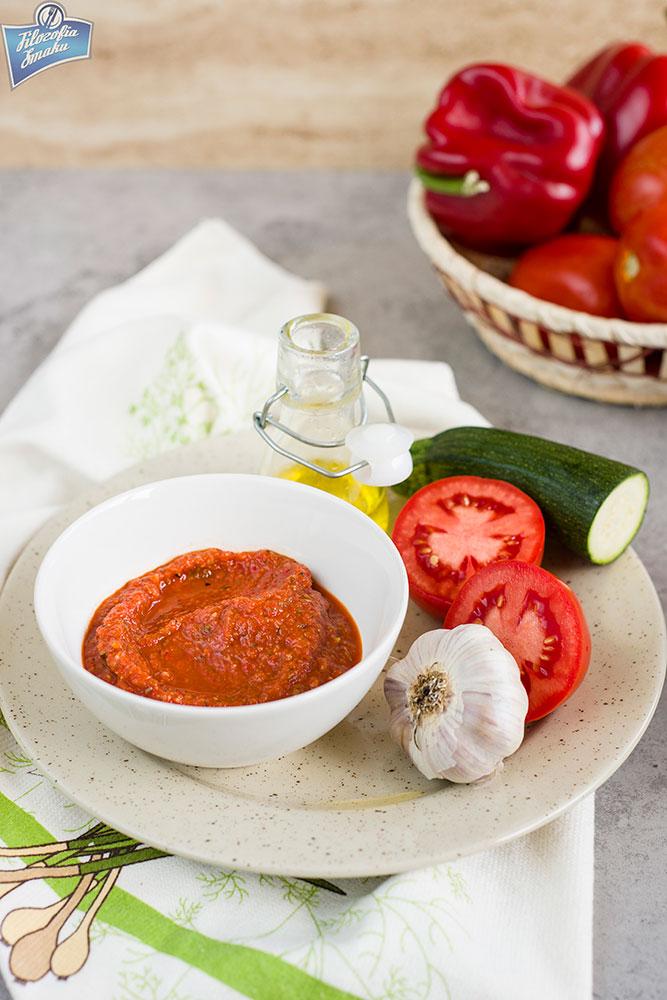 Sos z pieczonych warzyw jak zrobić