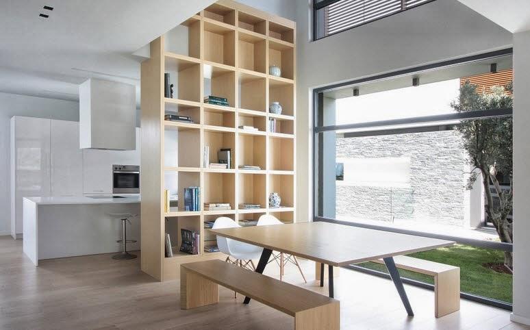 Dise o de dos casas modernas en un s lo terreno planos y for Interiores de viviendas