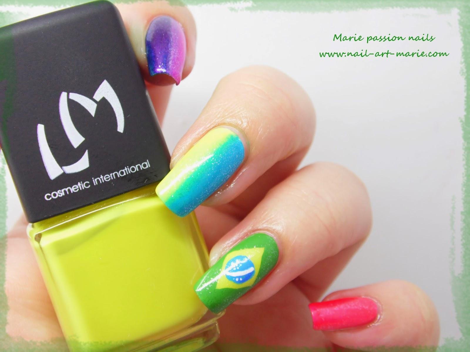 nail art Brésil4