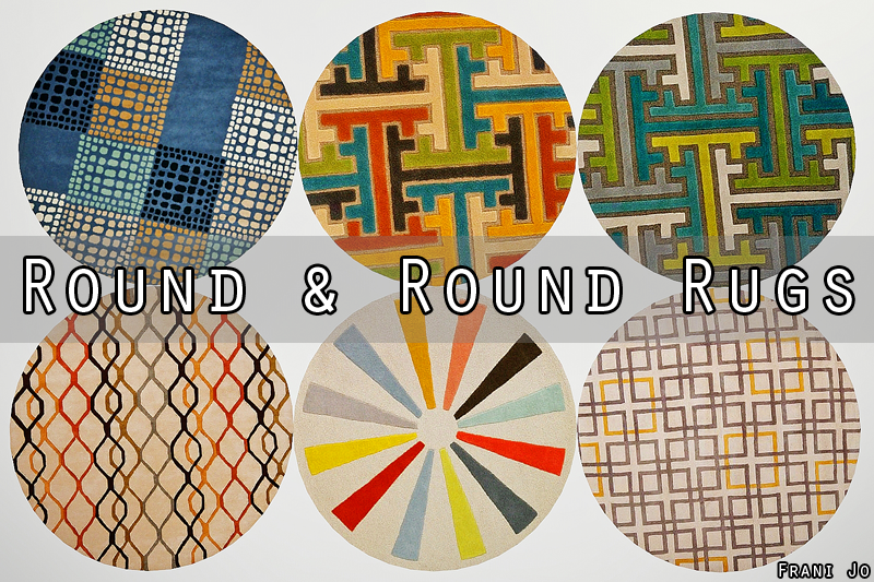 3 Round Rugs House Decor Ideas