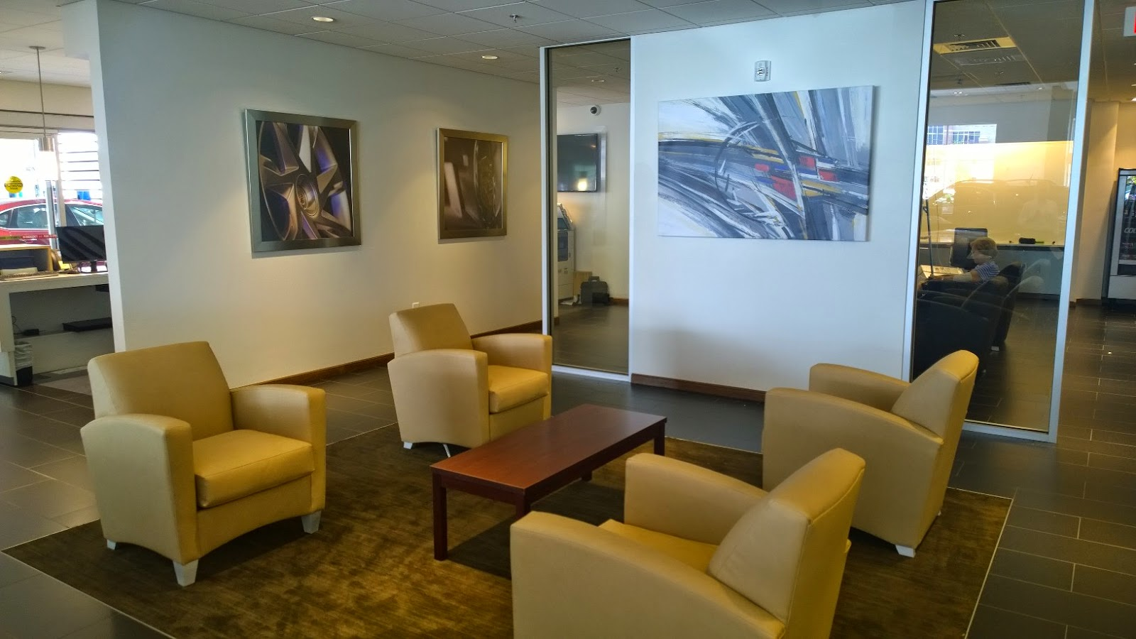 cadillac customer lounge cadillac showroom. Cars Review. Best American Auto & Cars Review