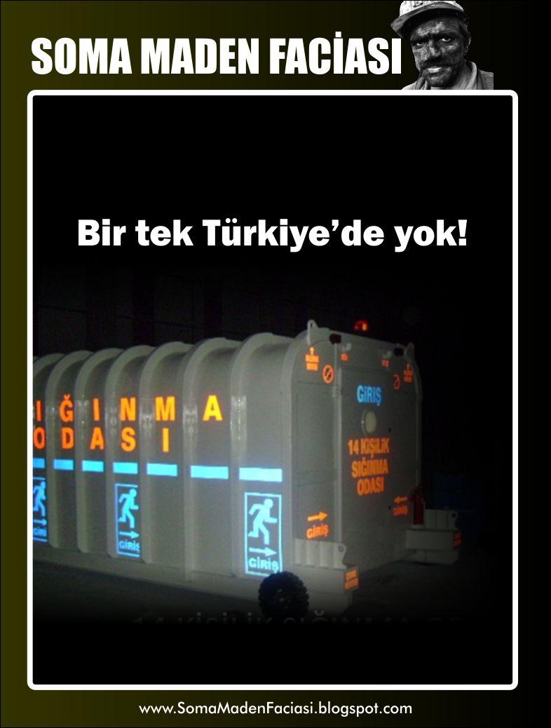 sığınma odaları Bir tek Türkiye'de yok