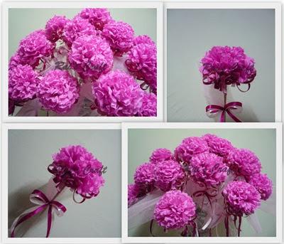 NIESAAZIZAN : Rivew Bunga Pahar Bakal Pengantin (DIY)