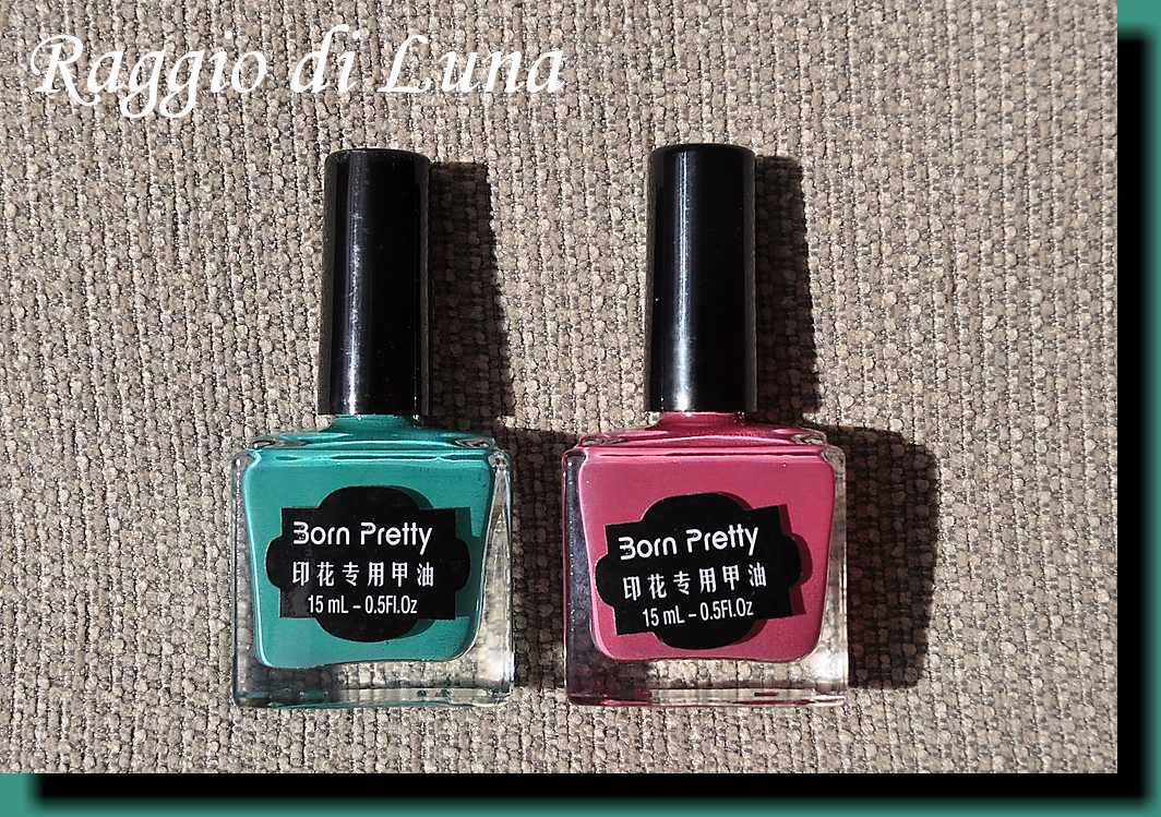 Raggio di Luna Nails: Born Pretty nail art stamping polishes # 18 ...