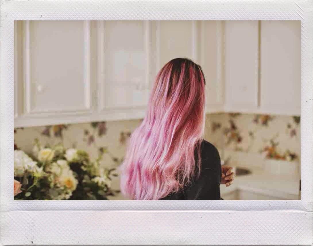 pink hair days //