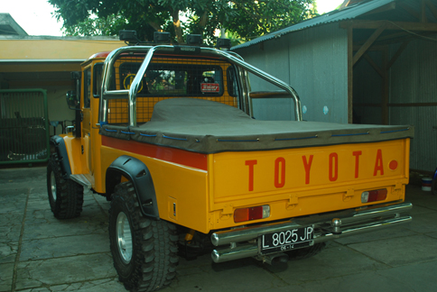 Modifikasi Toyota Land Cruiser