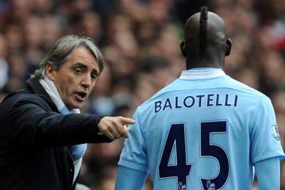 "Mancini: ""Balotelli puede ser como Messi o CR7"""