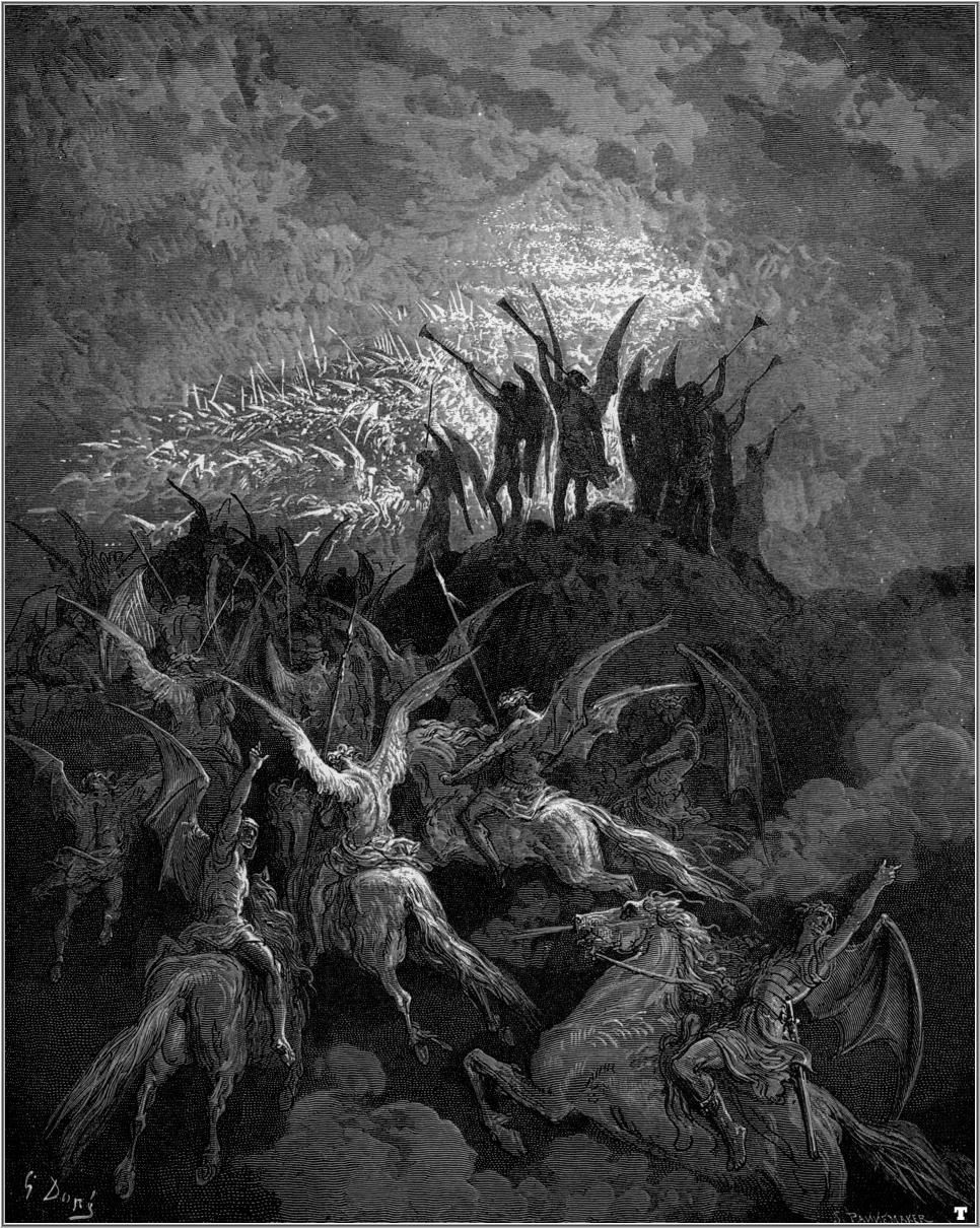 paradise lost by john milton an In paradise lost milton produced a poem of epic scale, conjuring up a vast, awe- inspiring cosmos and ranging across huge tracts of space and time.