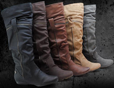 botas mujer invierno 2012