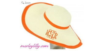 Marley Lilly Double Outline Derby Hat