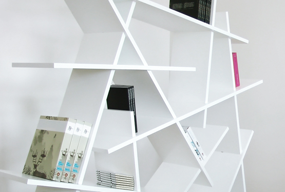 15 creative bookshelves and awesome bookcases - part 7.