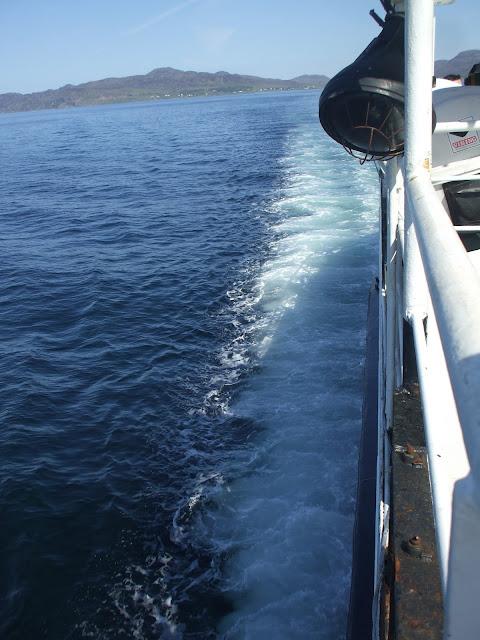 kilchoan - tobermory ferry june 13 by sea penguin