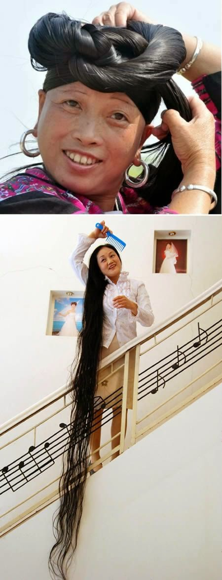 longest hair in the world guinness world record www