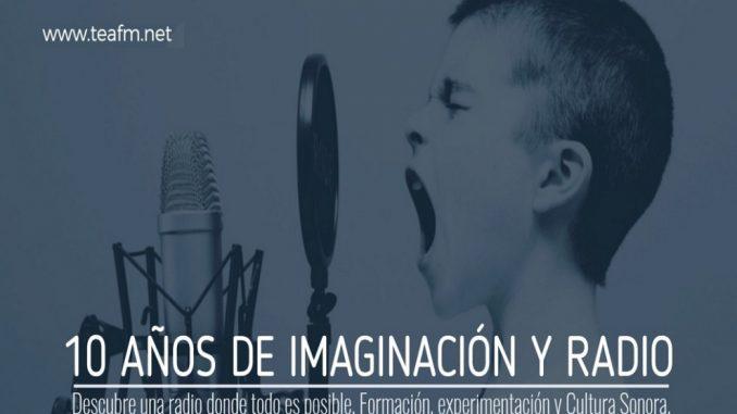 LA ESCUELA DE RADIO TEA FM CUMPLE 10 AÑOS
