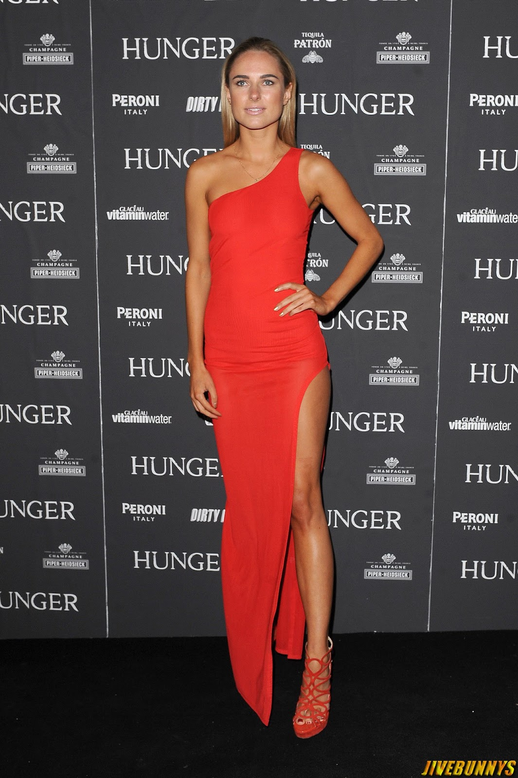 Kimberley Garner @ Hunger Magazine Issue 7 launch party in London - 12/09/2014