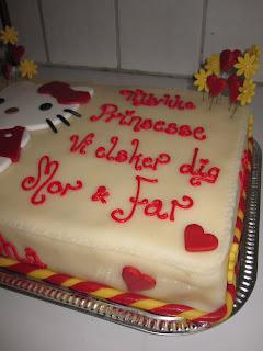en hjerte veninde kage