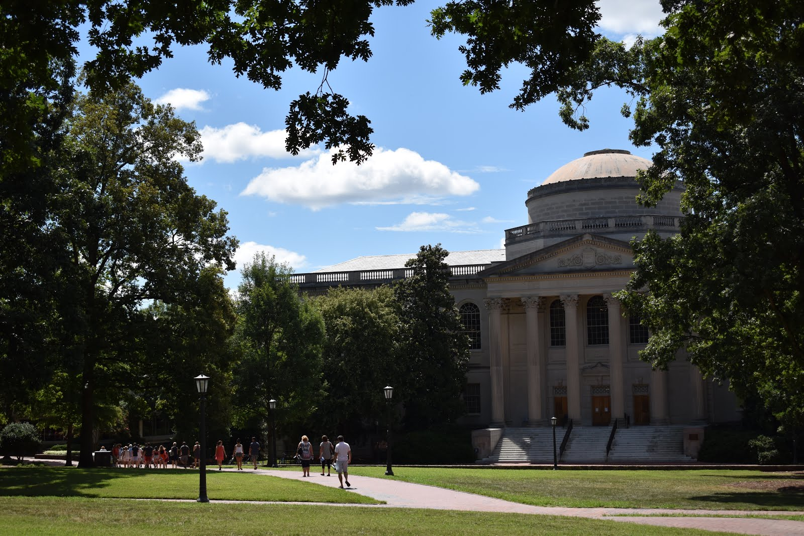 "finding the right fit"": a visit to university of north carolina"