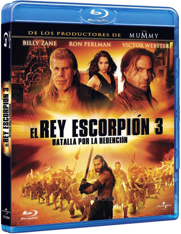 El Rey Escorpion 3 HD VL BRrip Dual Lat-ing sub MG