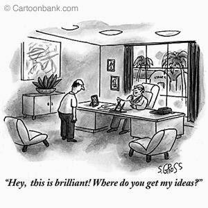 """""""To jest fantastyczne! Skąd pan wziął moje pomysły?"""""""