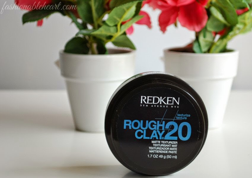 how to use redken rough clay 20