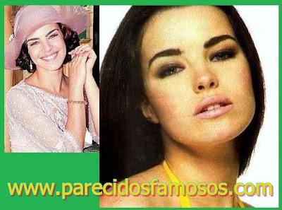Actriz Brasileña  Ana Paula Arósio antes y después